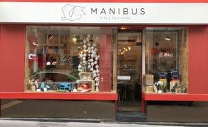 Photo de la devanture de la boutique Manibus Nantes