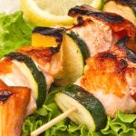 recette de brochette de poisson au barbecue