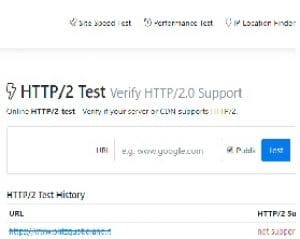 Outil test HTTP2