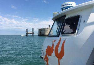Embarquez à bord de la Fée des îles 1 pour l'excursion la moins chère du département.
