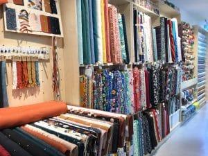 Collection de tissus originaux au mètre