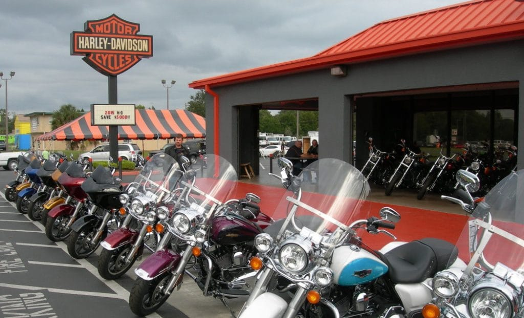 Une concession Harley-Davidson