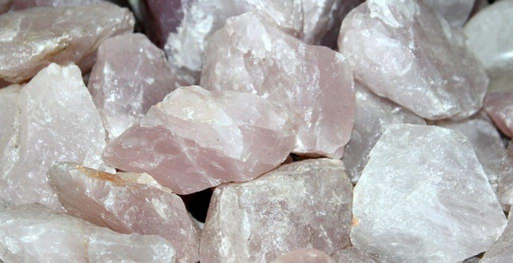Quartz Rose pierre